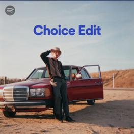 Spotify/Choice Edit/Playlist Inclusion