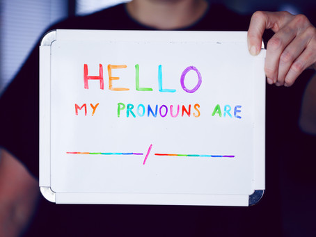 How to use Gender Neutral Pronouns: a guide for allies & gender diverse folk