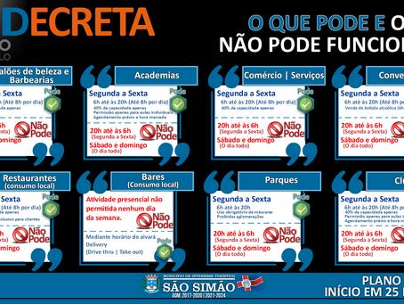 Prefeitura Municipal atualiza ações do Plano São Paulo
