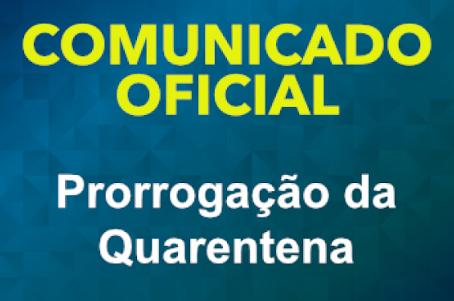 Decreto de Prorrogação da Quarentena - 01.03.2021