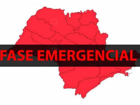 Decreto FASE EMERGENCIAL - Plano SP