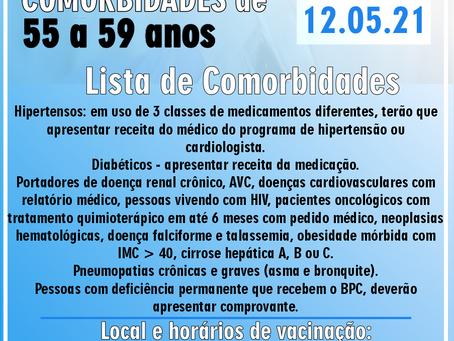 Cronograma de vacinação COVID-19