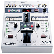 Roland Edirol V-4 Video Mixer. THE COMPACT VIDEO MIXER THAT'S FULL OF FEATURES
