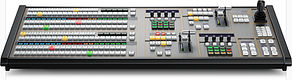 Blackmagic Design ATEM Broadcast Panelswitchers include advance technology and unique, powerful features, all built into a familiar M/E setup that's fast and easy to use. With an advanced broadcast SDI design ATEM also includes loads of HDMI connection for connectin low cost HDMI consumer cameras.