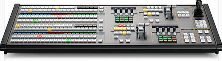 Blackmagic Design ATEM Broadcast Panel switchers include advance technology and unique, powerful features, all built into a familiar M/E setup that's fast and easy to use. With an advanced broadcast SDI design ATEM also includes loads of HDMI connection for connectin low cost HDMI consumer cameras.