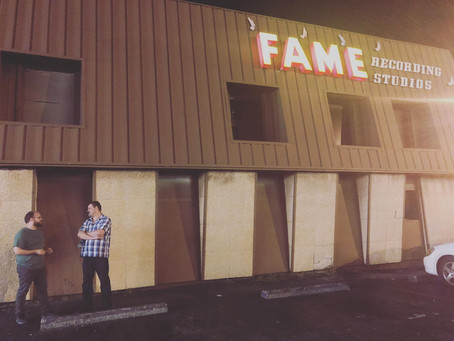 Recording at FAME Studios