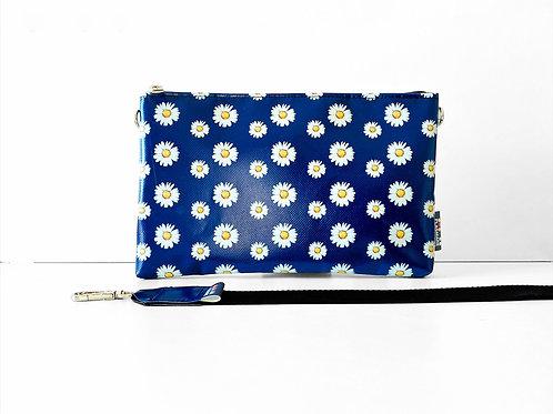 Pochette Margherite Blu