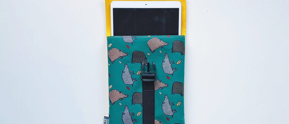 """Cover Case Tablet 10,5"""" Cinghiali"""
