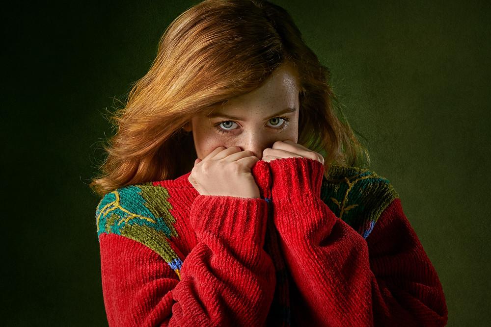 fata care se bucura de darul pe care il are care se numeste sensibilitate