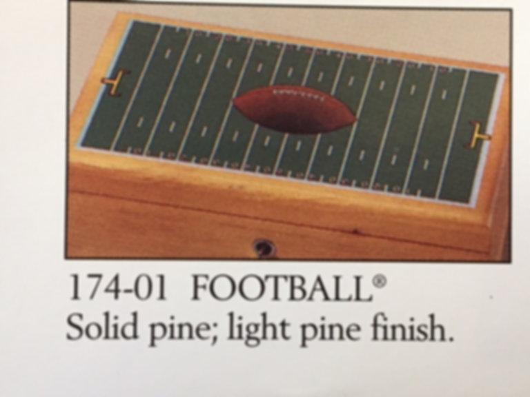 Lane cedar box football
