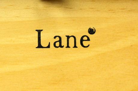 Lane Cedar Box lid logo - pine