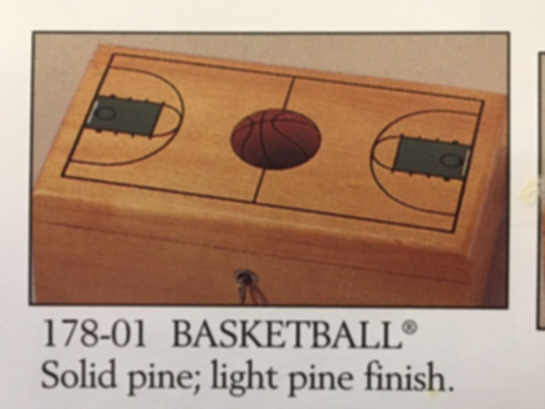 Lane cedar box basketball