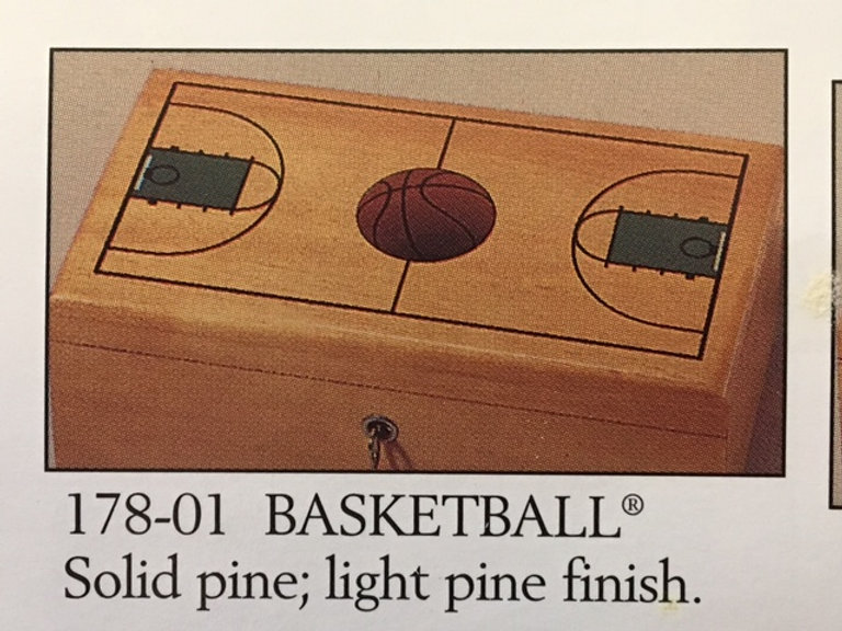 Lane cedar box basketball