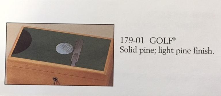 Lane cedar box golf