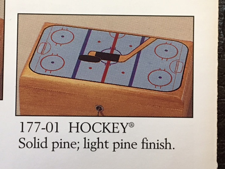Lane cedar box hockey