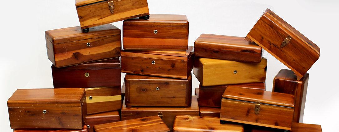 Lane cedar box collection