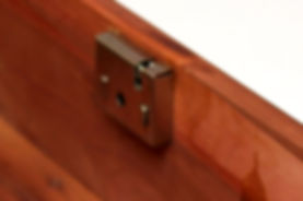 Lane cedar box key hole