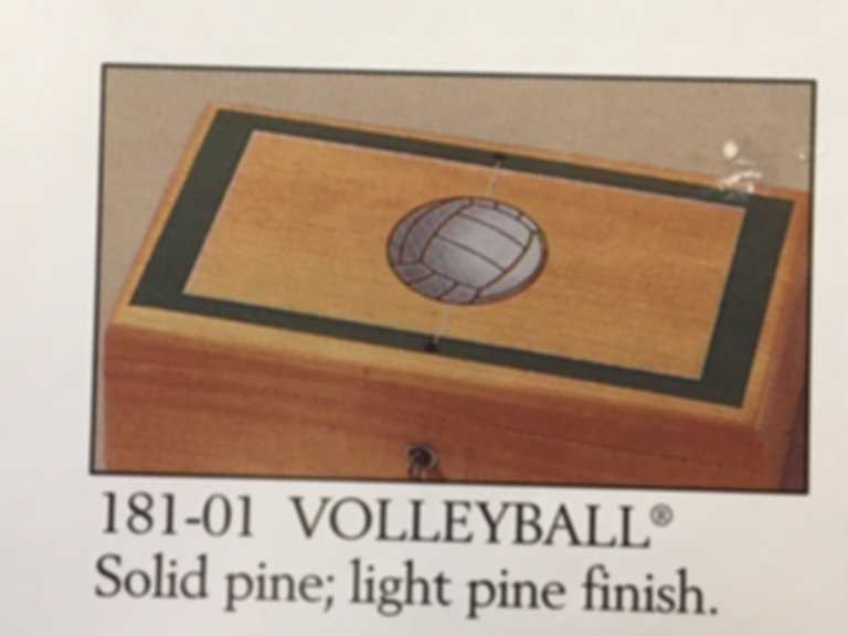 Lane cedar box volleyball