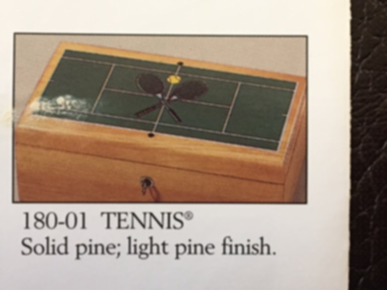 Lane cedar box tennis