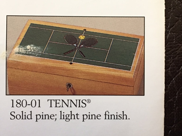 Lane cedar box tennis