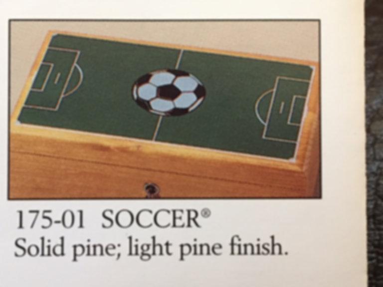 Lane cedar box Soccer