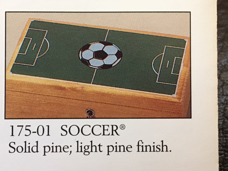 Lane cedar box Soccer