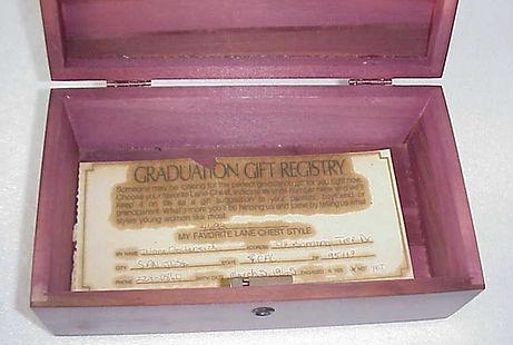 Gradution Gift Registry