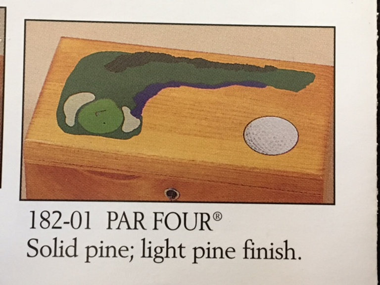 Lane cedar box golf