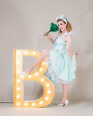 Dixie Dynamite Blonde Bombshell Burlesque München