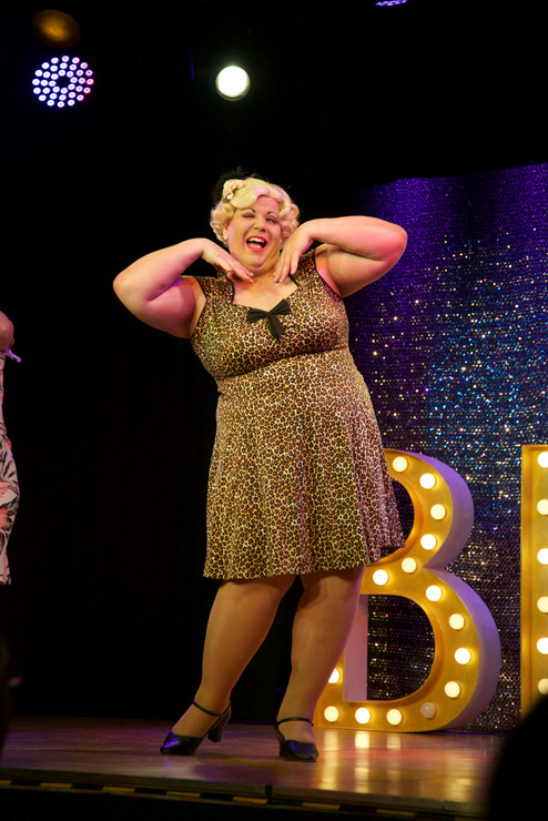 Blonde Bombshell Burlesque