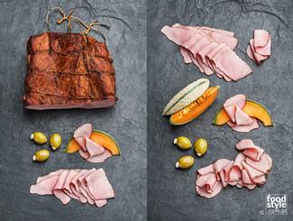 Zdjęcia kompozycyjne, editorial wędlin - FoodStyle.com.pl