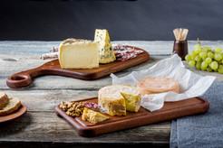Zdjęcia reklamowe talerzy drewnianych - FoodStyle.com.pl
