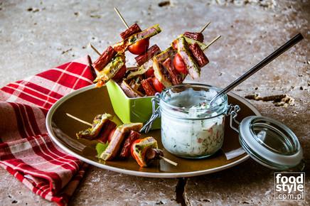 Zdjęcie dania Frittata z kabanosami JBB _ FoodStyle.com.pl
