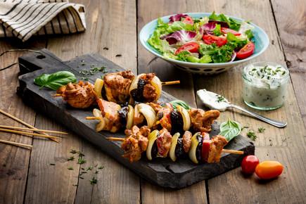 Szaszłyki Nasz Kurczak, stylizacja reklamowa - FoodStyle.com.pl