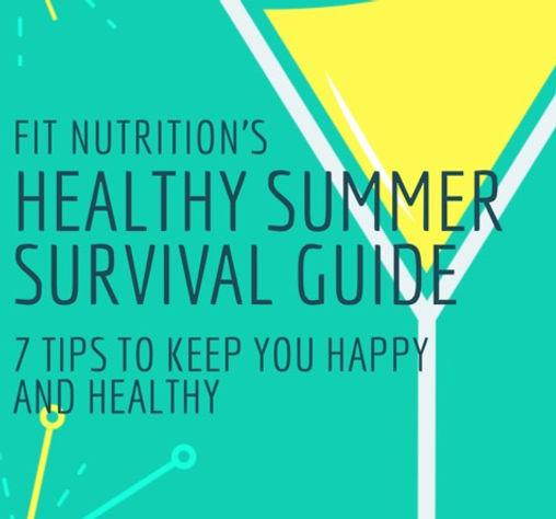PhotoFitNutrition summer survival guide.