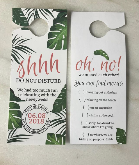 Door Hanger Design