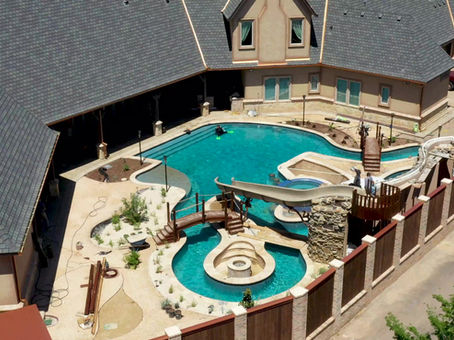 Waterpark Pool in Your Own Backyard