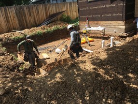 Footings added on Boulder Home Addition