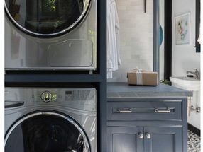 Adding Chic and Style to the Laundry Room