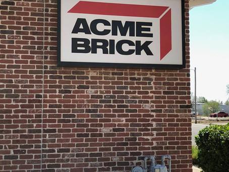 Acme Brick - TPO Roofing