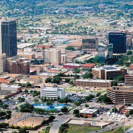 Downtown Amarillo, Texas