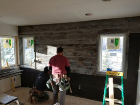 RECLAIMED BARN WOOD - ACCENT WALL