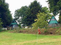 View of the Lodges from the golf cou