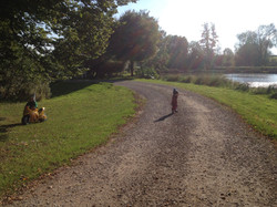A stroll around the lakes