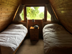 1 of the twin bedrooms