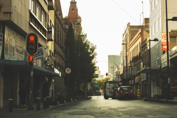The streets near Bellas Artes