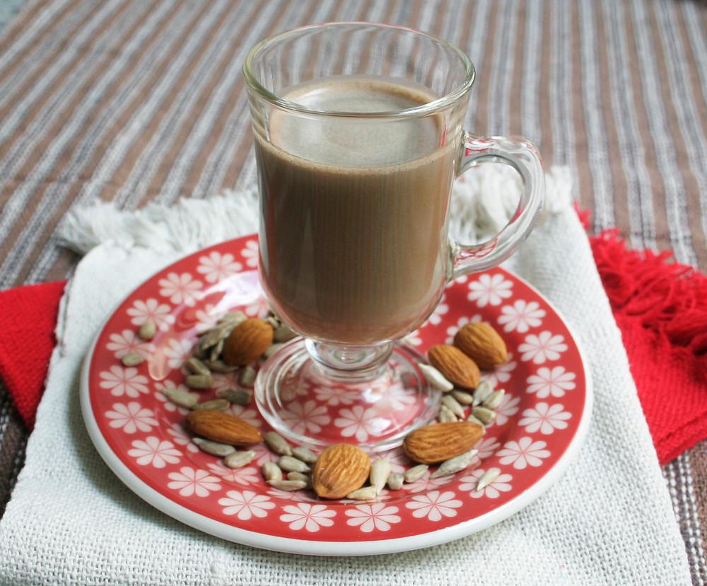 Achocolate Vegano de Amêndoa e Girassol