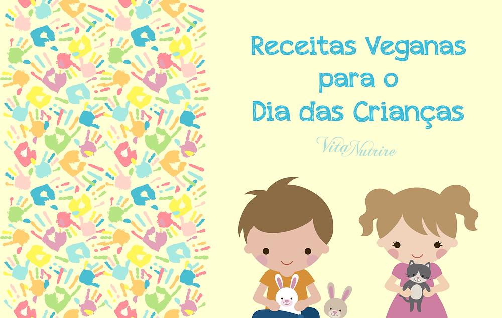 receitas veganas para o dia das crianças
