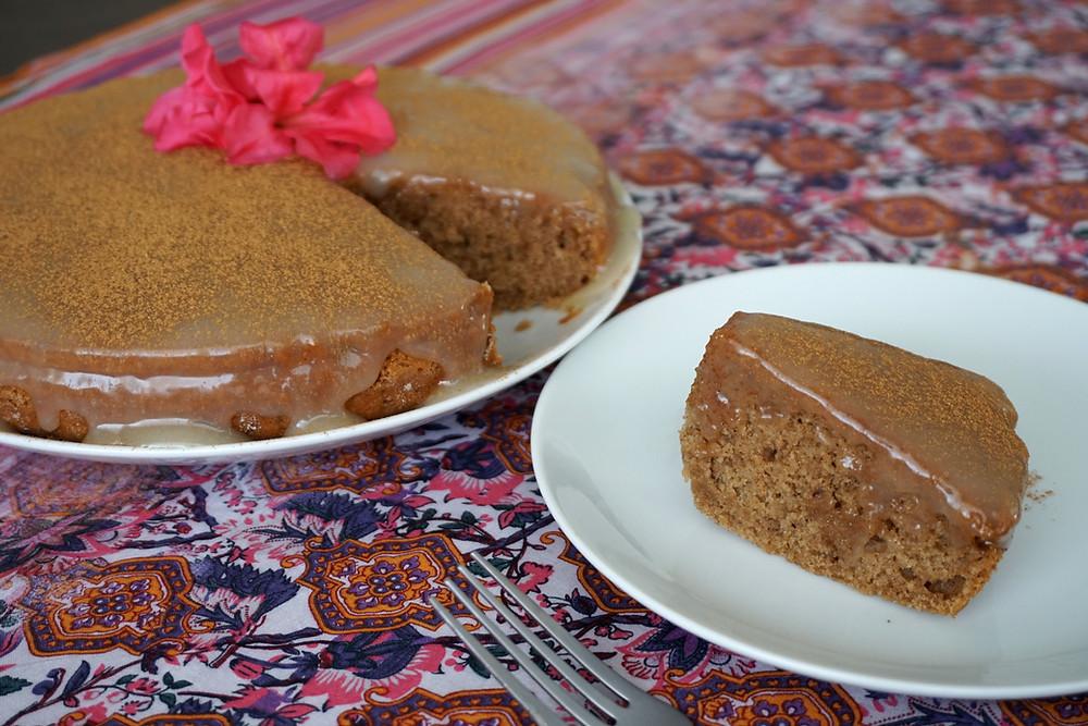 bolo indiano vegano