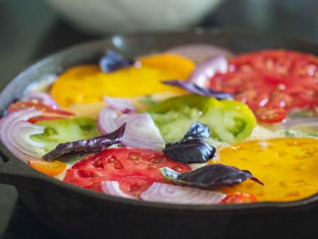 Tomato Basil Frittata